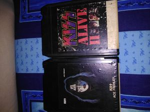 Kiss Alive ll, Ace Frehley Late 70s,8 track for Sale in Poteau, OK