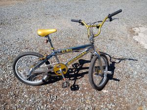 Mongoose EL Ray BMX Bike (Chrome/Gold) for Sale in Silver Spring, MD