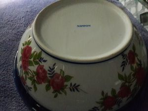 Nippon basin and pitcher. Small repaired chip on top for Sale in Dallas, TX
