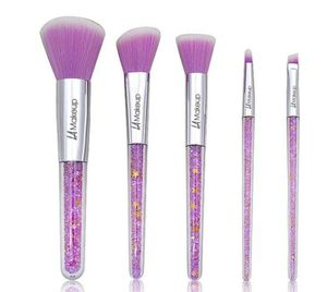 purple glitter makeup brush set for Sale in Los Angeles, CA