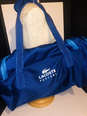 Lacoste duffel bag for Sale in Dublin, OH