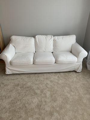 White sofa for Sale in Gainesville, VA