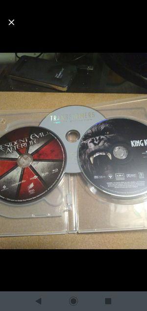 2 DVDs 1 Blu-ray Lot for Sale in Midlothian, VA