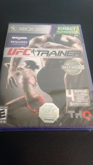 UFC Trainer ultimate fitness system Xbox 360 for Sale in Wichita Falls, TX