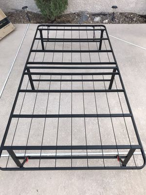 """New TWIN XL 14"""". Foldable Bed Frame for Sale in Henderson, NV"""