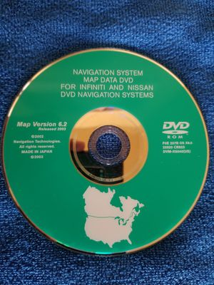 INFINITI AND NISSAN DVD NAVI.$25 for Sale in Fontana, CA