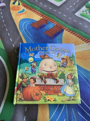 Mother goose nursery rhymes book for Sale in Spring Valley, CA