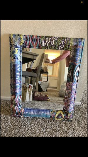 Funky colored mirror for Sale in Los Angeles, CA