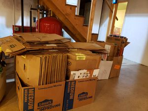 Free Moving Boxes for Sale in Hudson, ME