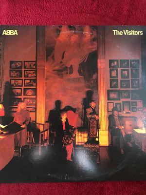 ABBA The Visitors Vinyl LP Record VG+ 1981 SD 19332 Atlantic Records for Sale for sale  Riverside, CA