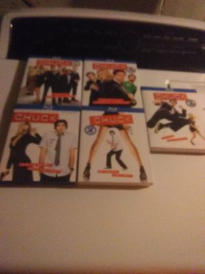 Chuck complete Blu-ray collection seasons 1-5 for Sale in Henderson, KY