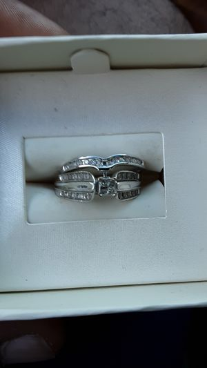 10k wedding band and engagement ring 400.00 for Sale in Richmond, VA
