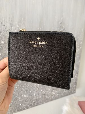 Kate Spade Joeley Small Glitter Bifold Wallet / brand new in gift box for Sale in Lemon Grove, CA