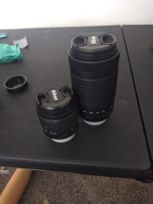 2 Nikon AF-P lenses (lot or separately) for Sale in Reisterstown, MD