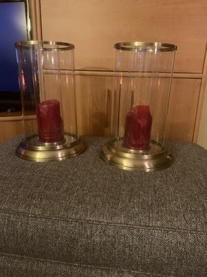 Free candle holders for Sale in Chicago, IL