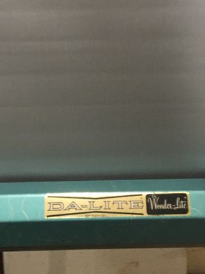 "Vintage Da Lite Movie Slide Projection screen 40"" x 40"" for Sale in Raleigh, NC"