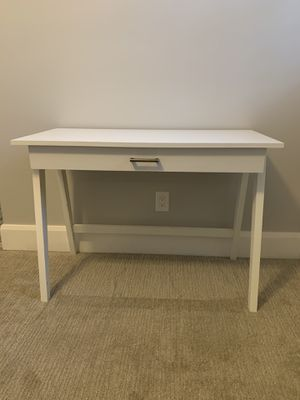 White Desk with Drawer for Sale in Phoenix, AZ