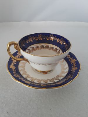 STUNNING ANTIQUE 1850 E.B. FOLEY ENGLAND BONE CHINA TEACUP & SAUCER NUMBERED 3782 for Sale in Pompano Beach, FL