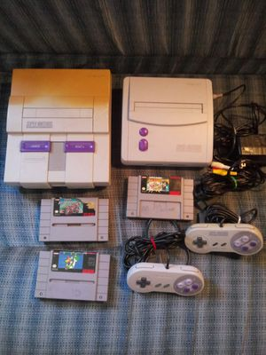 Original Super Nintendo bundle for Sale in Georgetown, KY