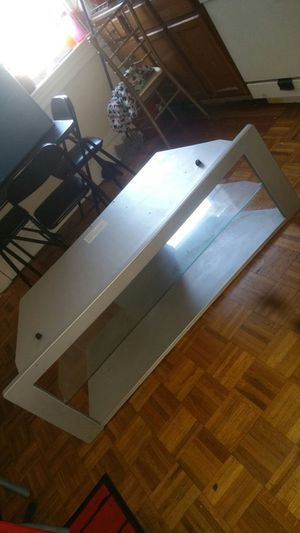 Silver TV stand for Sale in St. Louis, MO