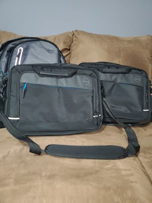 Dell Professional Laptop Bag and Dell Urban Notebook Carrying Backpack 15 each for Sale in Brooklyn Center, MN