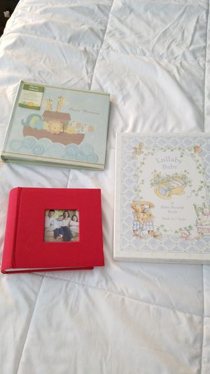 Lullaby Baby A Baby Record Book Birth to 7 Years, photo Album holds 100 4 in x 6 inch (photo memories) for Sale in Miami, FL
