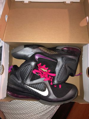 """Lebron 9 """"Miami Nights"""" Size 12 for Sale in Gaithersburg, MD"""