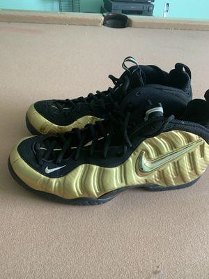 Nike gold Foamposite size 14 for Sale in Dania Beach, FL