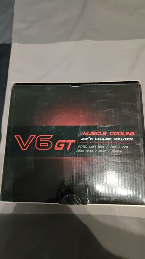 Cooler Master V6 GT 200+W cpu cooler with changeable led colors for Sale in Davenport, FL