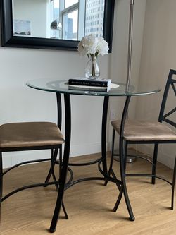 Bar Height Dining Set (table + 2 chairs) for Sale in Seattle,  WA