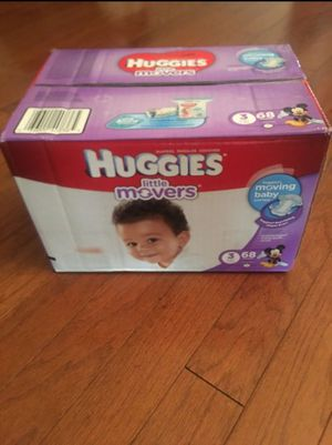 Huggies Little Movers Diapers Size 3 for Sale in Elk Grove, CA