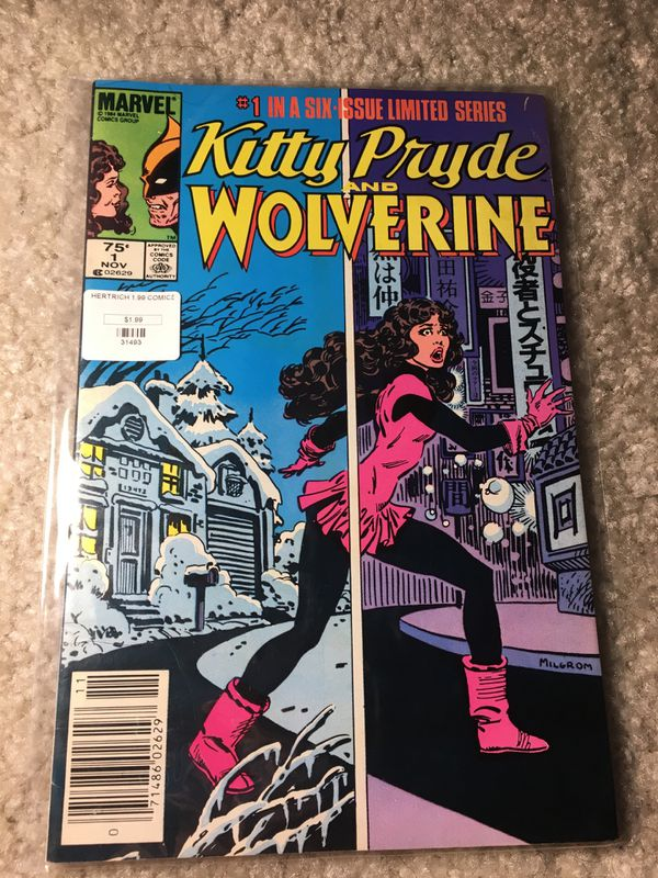 Kitty Pryde and Wolverine 1984 ist in a six issue limited series