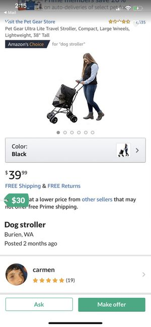 Dog stroller for Sale in Seattle, WA