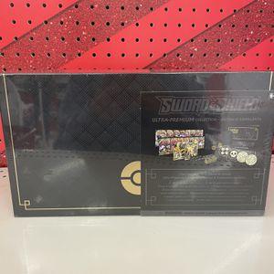 Pokemon Sword And Shield Ultra Premium Collection - Zacian & Zamazenta SEALED for Sale in San Diego, CA