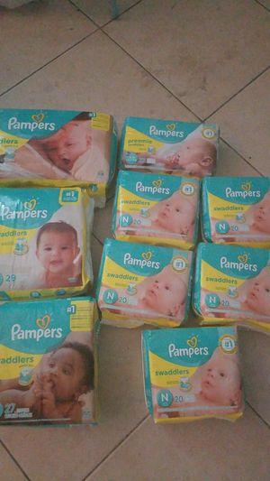Pampers diaper lot for Sale in Stuart, FL