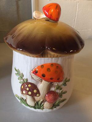 Handpainted Mushroom Cookie Jar for Sale in Millvale, PA