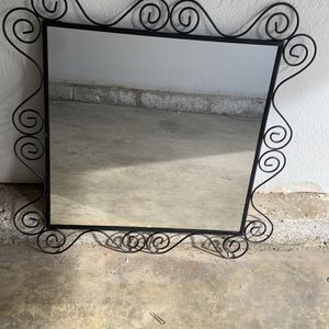 Black Wall Mirror Bathroom Mirror for Sale in Corona, CA
