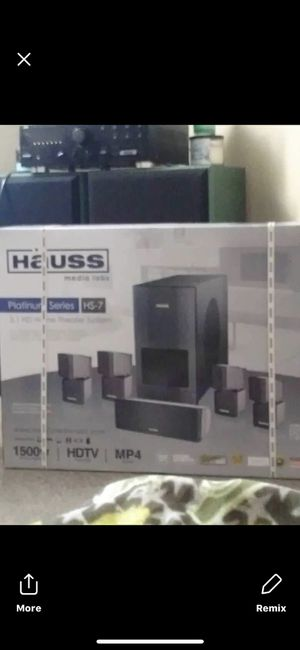 Brand new home sound system for Sale in Denver, CO