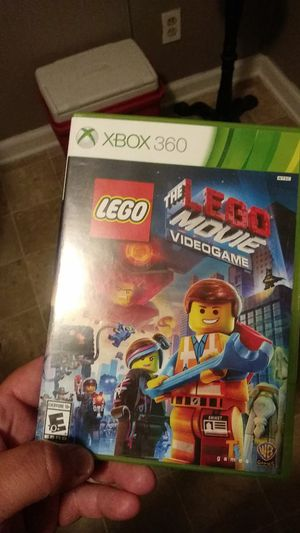 Xbox 360 lego movie game for Sale in Morrow, GA