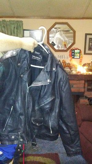 Leather motorcycle jacket 3x for Sale in Dixon, MO