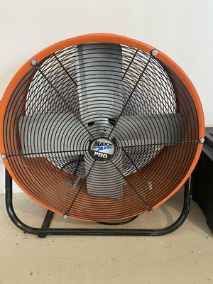 """Max air pro 30"""" 2 speed fan for Sale in Davie, FL"""