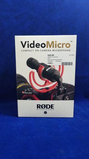 NIB   Rode Video Micro Compact On-Camera Microphone for Sale in Marietta, GA