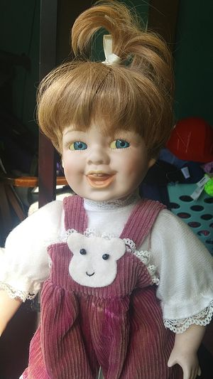 Porcelain doll child for Sale in Portland, NY