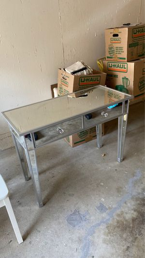 Mirrored console table for sale for Sale in Sacramento, CA