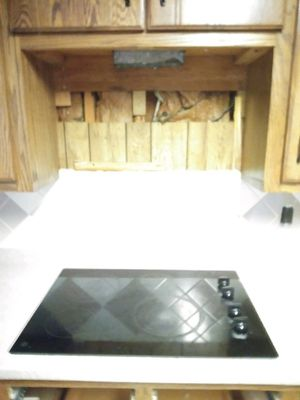 GE microwave with hood GE stove top glass burners for Sale in Nashville, TN