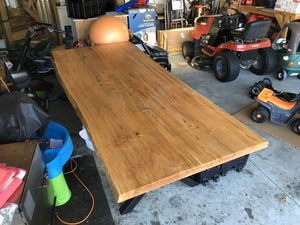 Live edge maple dining table for Sale in Newport News, VA