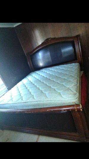 King size bed frame nd matress for Sale in Breaux Bridge, LA