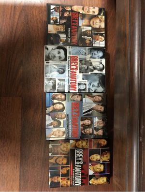 Greys anatomy seasons 1-4 for Sale in Santa Maria, CA