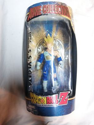 IRWIN Dragon Ball Z Action Figure Movie Collection Battle Damaged SS Vegeta NIP for Sale in La Mirada, CA