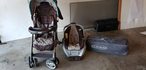 Car seat,car seat base, stroller and playpen for Sale in Mesquite, TX
